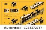 ore mining or metallurgy... | Shutterstock .eps vector #1285272157