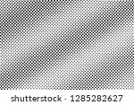 black on white halftone vector... | Shutterstock .eps vector #1285282627