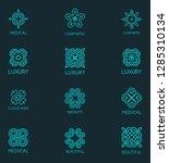 set of stylish vector logos for ... | Shutterstock .eps vector #1285310134
