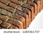 architectural background with...   Shutterstock . vector #1285361737