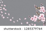 handmade background in oriental ...   Shutterstock .eps vector #1285379764