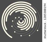 abstract marine logo. creative... | Shutterstock .eps vector #1285388194