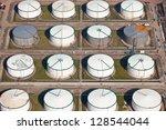 series of oil drums | Shutterstock . vector #128544044