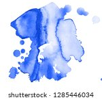 colorful abstract watercolor... | Shutterstock .eps vector #1285446034