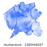 colorful abstract watercolor... | Shutterstock .eps vector #1285446037