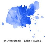 colorful abstract watercolor... | Shutterstock .eps vector #1285446061