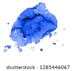 colorful abstract watercolor... | Shutterstock .eps vector #1285446067
