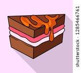 vector design of confectionery... | Shutterstock .eps vector #1285466761