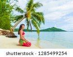 tahiti bora bora french... | Shutterstock . vector #1285499254