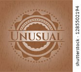 unusual realistic wood emblem | Shutterstock .eps vector #1285502194