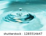 water background   water is a... | Shutterstock . vector #1285514647