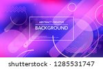 abstract graphic design of... | Shutterstock .eps vector #1285531747