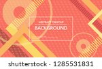 backdrop design with abstract... | Shutterstock .eps vector #1285531831