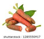pepper longum isolated on white ...   Shutterstock . vector #1285550917