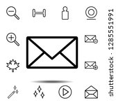 mail icon. simple thin line ...