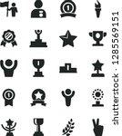 solid black vector icon set  ...   Shutterstock .eps vector #1285569151