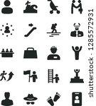 solid black vector icon set  ...   Shutterstock .eps vector #1285572931