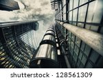 Hdr Picture Of Skyscraper In...