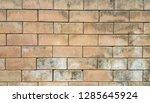 old brick wall. | Shutterstock . vector #1285645924