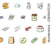 set of thumbnails. background...   Shutterstock .eps vector #1285665214