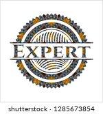 expert arabic style badge.... | Shutterstock .eps vector #1285673854
