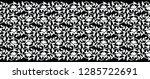 seamless black and white... | Shutterstock .eps vector #1285722691
