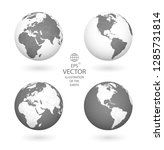 earth illustration. each... | Shutterstock .eps vector #1285731814
