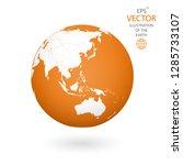 earth illustration. each... | Shutterstock .eps vector #1285733107