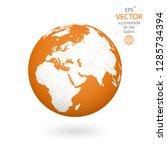 earth illustration. each... | Shutterstock .eps vector #1285734394