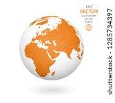 earth illustration. each... | Shutterstock .eps vector #1285734397