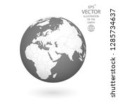 earth illustration. each... | Shutterstock .eps vector #1285734637
