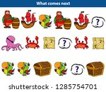 what comes next educational... | Shutterstock .eps vector #1285754701