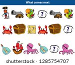 what comes next educational... | Shutterstock .eps vector #1285754707