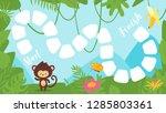vector cartoon style... | Shutterstock .eps vector #1285803361