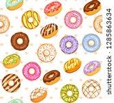 Doughnut Vector Set  Colorful...