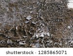 old vintage crack wall  | Shutterstock . vector #1285865071