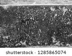 old vintage crack wall  | Shutterstock . vector #1285865074