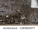 old vintage crack wall  | Shutterstock . vector #1285865077