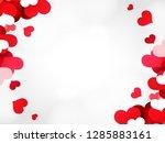 abstract typography happy... | Shutterstock .eps vector #1285883161