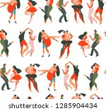 hand drawn vector abstract...   Shutterstock .eps vector #1285904434