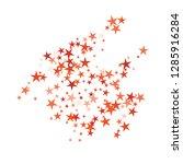 falling stars confetti... | Shutterstock .eps vector #1285916284