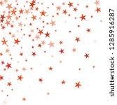falling stars confetti... | Shutterstock .eps vector #1285916287