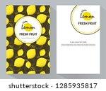 packing template design of... | Shutterstock .eps vector #1285935817