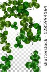 vector clover leaf  isolated on ...   Shutterstock .eps vector #1285994164