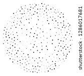 elegant pattern with black...   Shutterstock .eps vector #1286017681