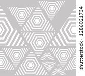 geometric pattern grid  stripe  ... | Shutterstock .eps vector #1286021734