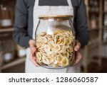 a midsection of a shop... | Shutterstock . vector #1286060587