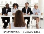 five different business people... | Shutterstock . vector #1286091361