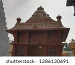 kali puja pandal | Shutterstock . vector #1286130691