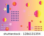 abstract geometric pattern... | Shutterstock .eps vector #1286131354